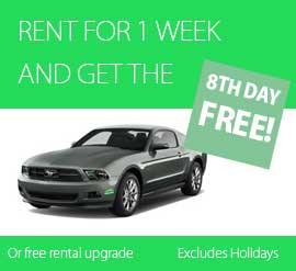 RENT1WEEK8THDAYFREE